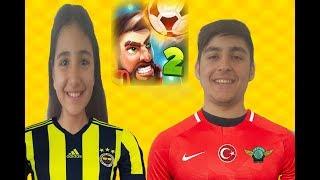 İKİ KİŞİLİK KAFA TOPU 2 OYNADIK !!! VS