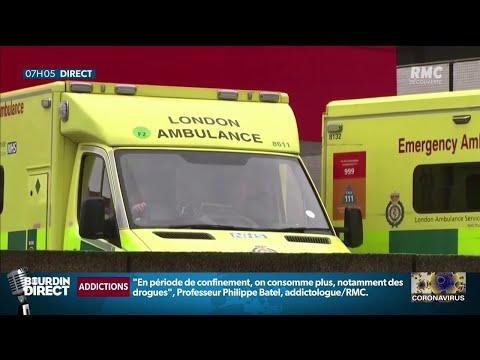 Covid-19: au Royaume-Uni, une hausse record de 115 décès en 24 heures