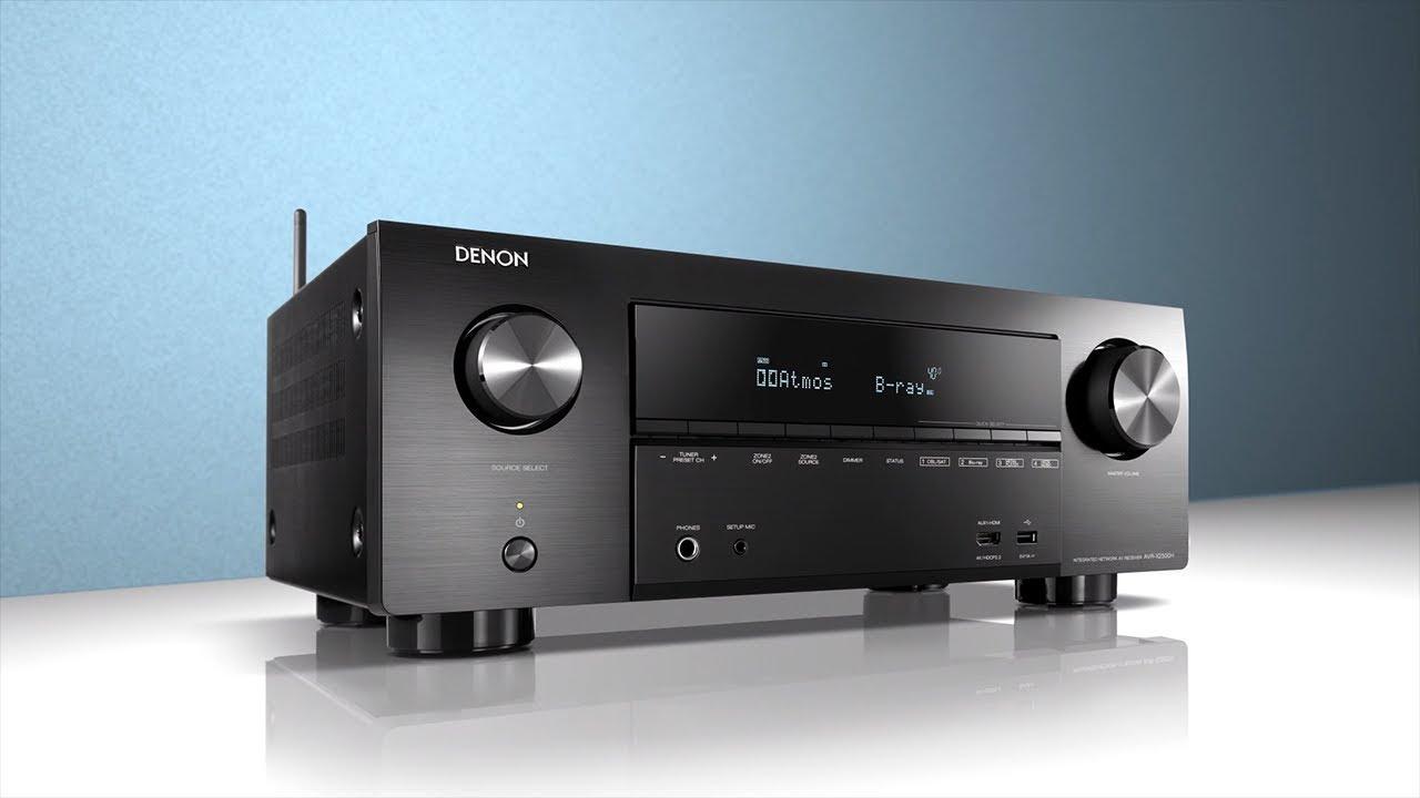 Denon AVR-X2500H - EN