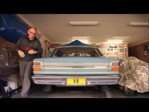 Bob's Vintage NSW Police Highway Falcon 500