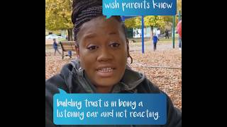 #wishyouknew just listening helps