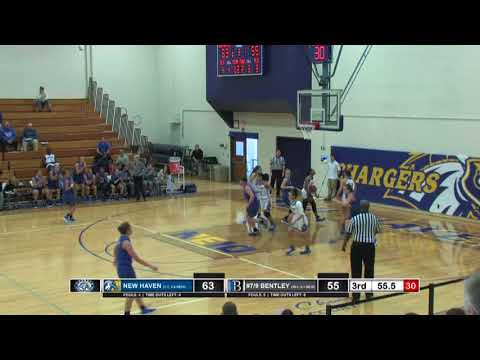 Women's Basketball Highlights vs New Haven Jan. 13, 2018