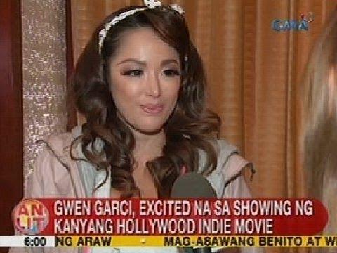 UB: Gwen Garci, excited na sa showing ng kanyang Hollywood indie movie