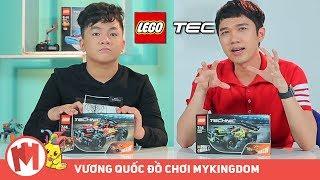 MỞ HỘP LEGO TECHNIC   42072 BASH và 42073 WHACK - BEN & MINH XÙ
