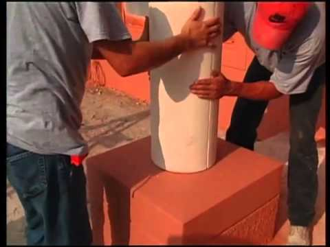 Creating decorative styrofoam columns also youtube rh