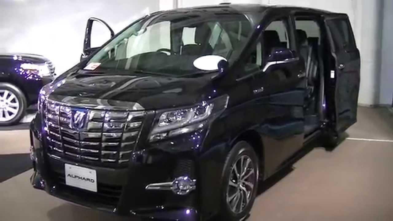 新型アルファードハイブリッドの展示車の外装と内装を撮影しました。sr 7人乗り 490万円 New Alphard