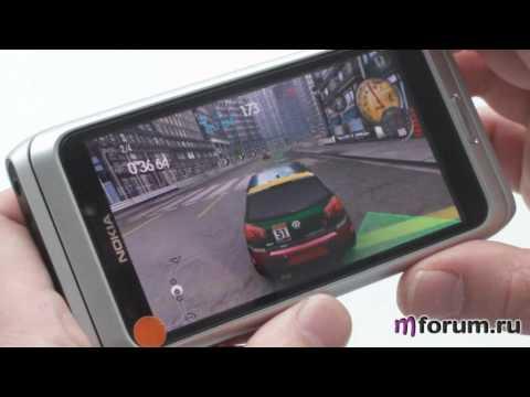 Nokia E7. Need for Speed