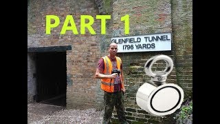 Historic railway tunnel explored and magnet fished part 1