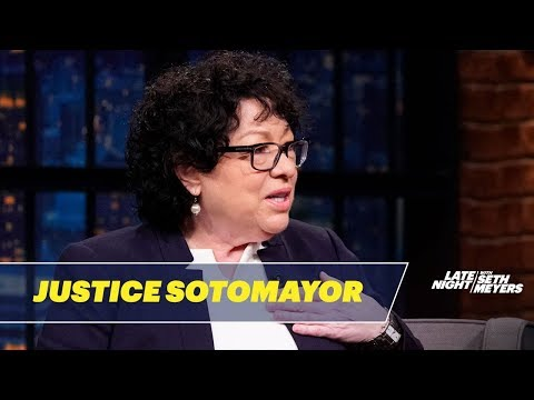 Justice Sotomayor Wants To Inspire Children With Her Book