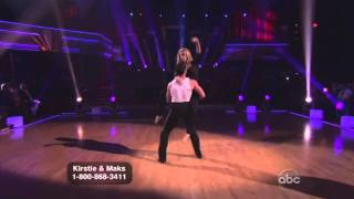 Kristie Alley and Maksim Chmerkovskiy Dancing with the Stars final freestyle