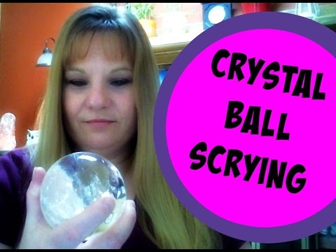 🔮Crystal Ball Scrying (How to be Psychic) 🔮