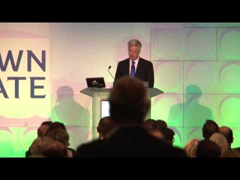 Michael Fallon MP gives a keynote speech at Offshore Wind 2013