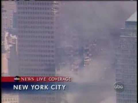 WTC 7 south side damage ABC news