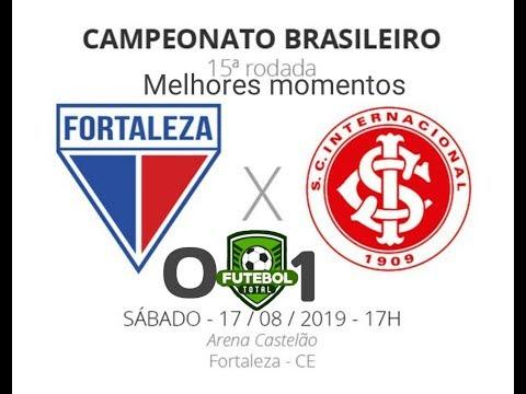 Melhores Momentos FORTALEZA 0 x 1 INTERNACIONAL - Brasileirão 2019 (17/08/2019)