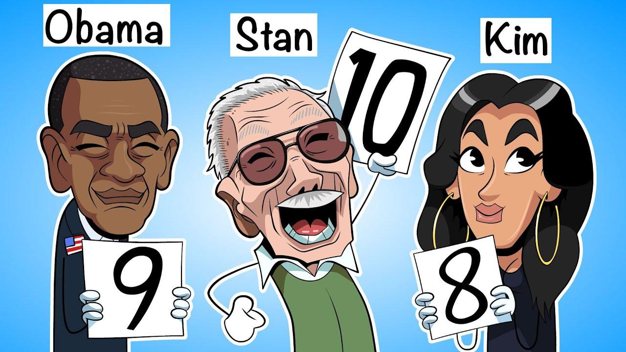 Rating Celebrities I've met at Parties/Events