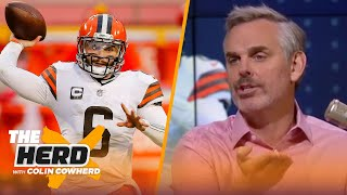 Colin Cowherd plays 'Mayfield or The Field', decides between Baker & other QBs | NFL | THE HERD