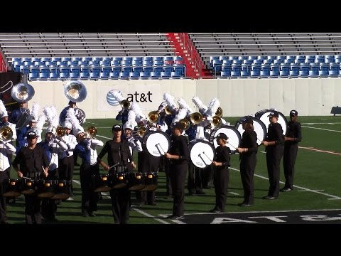 The Legacy of Bryant - Championship at the Rock (focus on the drum line)