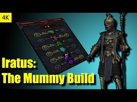 Iratus Playthrough - The Mummy Build 4K  