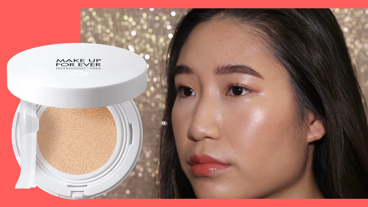 *OMG* MAKEUP FOREVER UV Bright Cushion Foundation First Impressions Review + DEMO