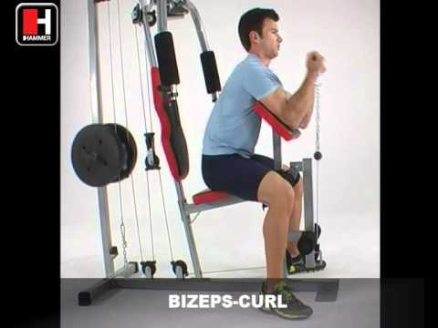 Station de musculation Hammer Nevada RX - Tool Fitness