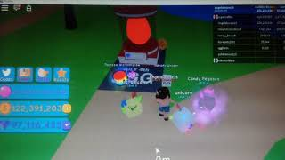 Hatching Eggs in Bubble Gum Simulator😋😊🥚(ROBLOX GAME)