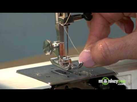 How To Thread A Sewing Machine YouTube Interesting How To Tread A Sewing Machine