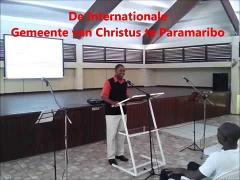 ICOC Suriname, 20151011 SUNDAYSERVICE - Walking with God - Tyrone Marcus (Trinidad)