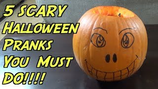 5 Halloween Pranks You Must Try This Year- HOW TO PRANK (Evil Booby Traps)