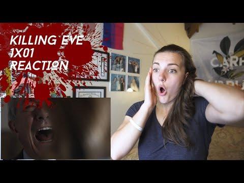 Killing Eve Season 1 Episode 1 Nice Face REACTION