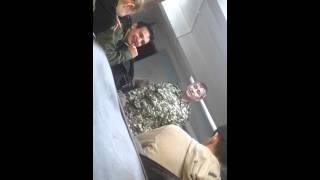 Учитель НВП ведет урок))))ржач))