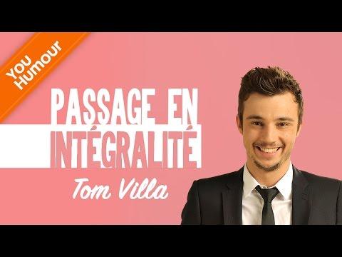 TOM VILLA - Passage en intégralité