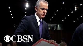 Andrew McCabe: Justice Department officials discussed removing Trump from office