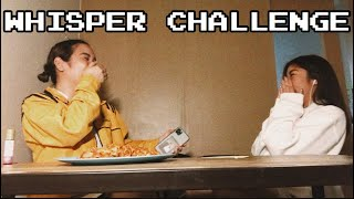WHISPER CHALLENGE MADE ME CRY?!?! (JUST FOR LAUGHS HEHE) || NICOLE ANGELINE