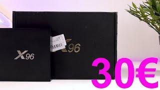 30€ TV BOX ANDROID CONVIENE??! X96  RECENSIONE IN ITALIANO