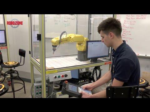 Industrial Robotics Training Program at Branch Area Careers Center - FANUC  America CERT