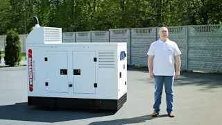 видео Дизельные электростанции (ДЭС). Что такое дизельная электростанция? Устройство дизельной электростанции