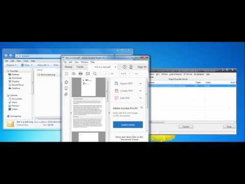 Convert MSG files to PDF including Attachments with Batch Document Converter Pro