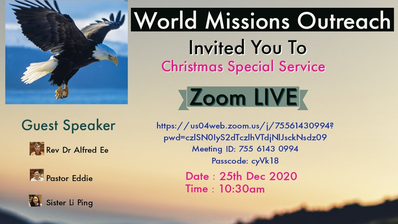 World Missions Outreach Christmas Special Service.