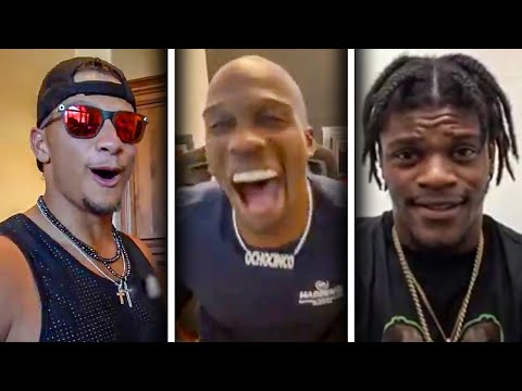 NFL Players REACT to their Madden 21 Ratings (Patrick Mahomes, Lamar Jackson, Deshaun Watson & more) from YouTube · Duration:  6 minutes 55 seconds