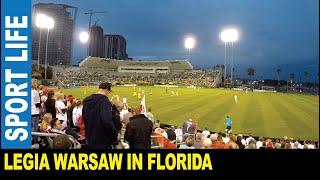 Soccer game Legia Warsaw vs Atletico Nacional (0:2) Al Lang stadium Saint Petersburg Florida USA