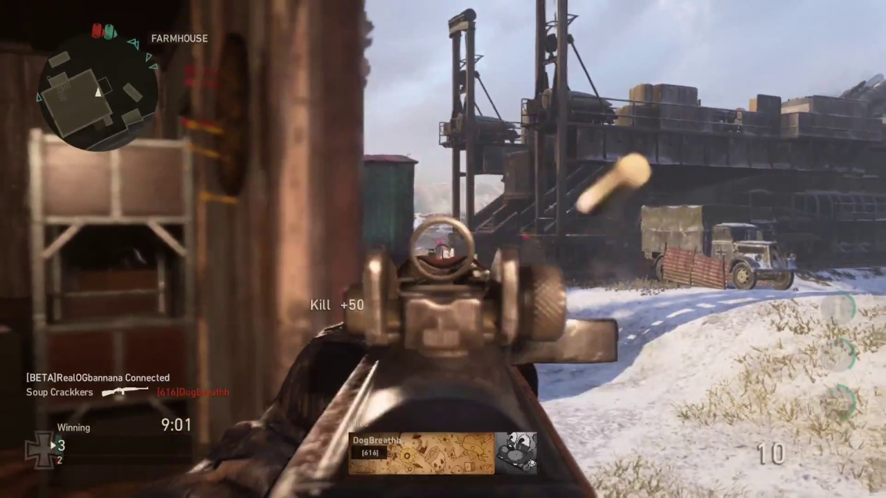 What Is The Best Loadout For Call Of Duty WW2 Multiplayer? - ECHOGEAR