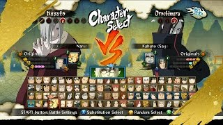 DOWNLOAD Pack MOD Naruto Ninja STORM III™ +D60 Costumes Included DLC Naruto Revolution!