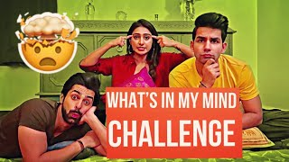 What's in my Mind Challenge | Rimorav Vlogs