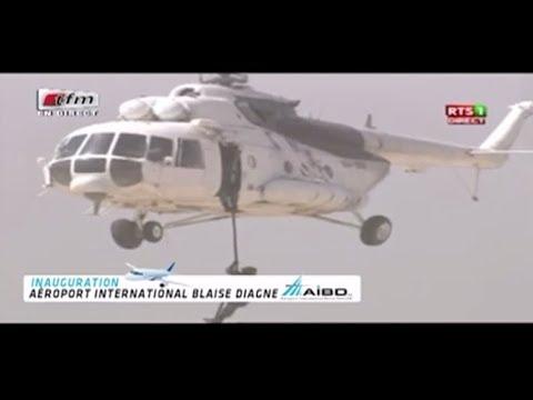 Download Youtube: La préstation de force de l' armée Sénégalaise a l' inauguration de l' AIBD