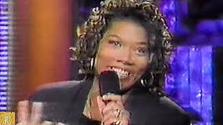 Living Single Cast on Arsenio 1993 Queen Latifah Kim Fields Kim Coles Erica Alexander