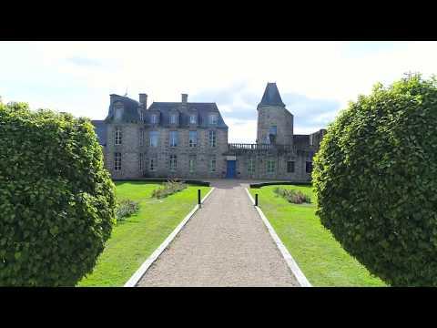 Le Château du Bois Guy vu du ciel