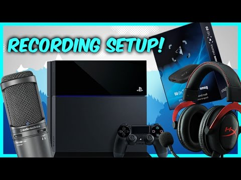 My Ps4 and Pc Recording and Gaming YouTube Setup!