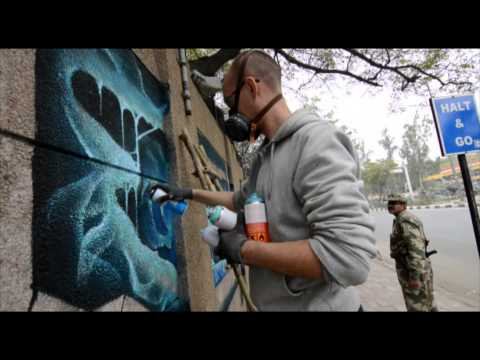 Bond Truluv Graffiti / Walls of the World 1: India