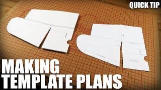 Making Template Plans - Quick Tip | Flite Test