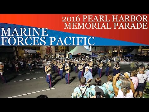 Marine Forces Pacific Band | 2016 Pearl Harbor Memorial Parade